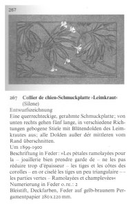 Barten Sigrid, René Lalique, Schmuck und objets d'art 1980-1910, ed Prestel, 1989