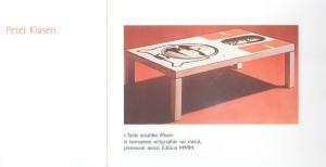 JOLLANT et BRAUNSTEIN, Atelier A, Rencontre de l'art et de l'objet, Ed. Norma, 2003, p. 161