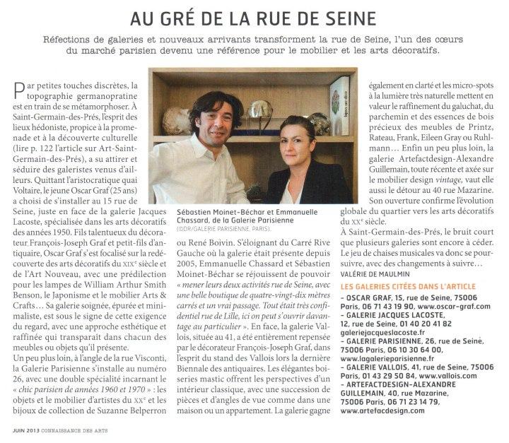 Connaissance des arts / Juin 2013 / P.122