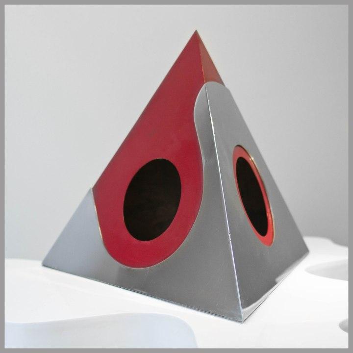 "Ruth Francken - Sculpture ""Pyramide"" - 1968"