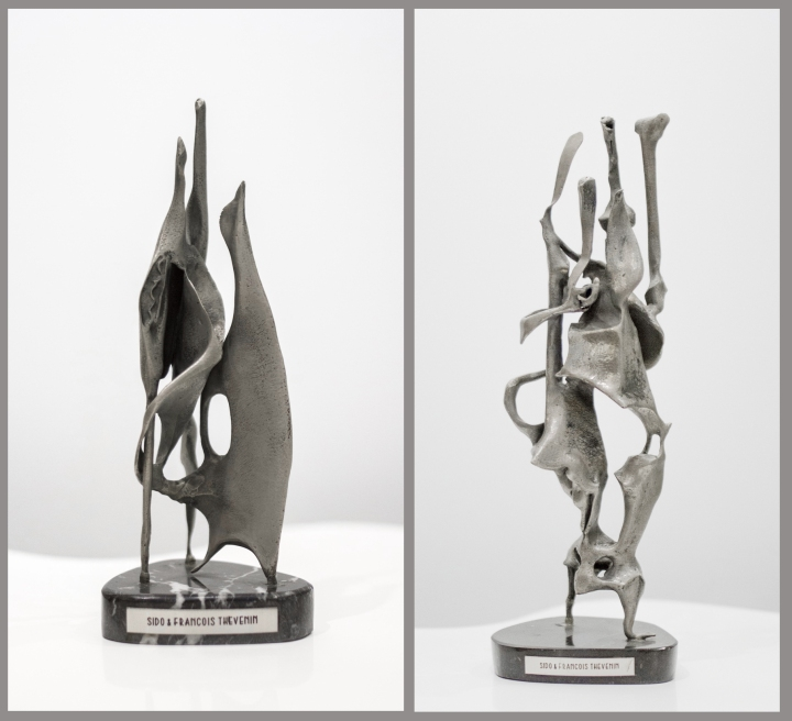 Sido & François Thevenin -Sculptures - 1973