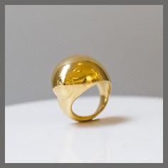 Bague 'Sein' - Bronze doré