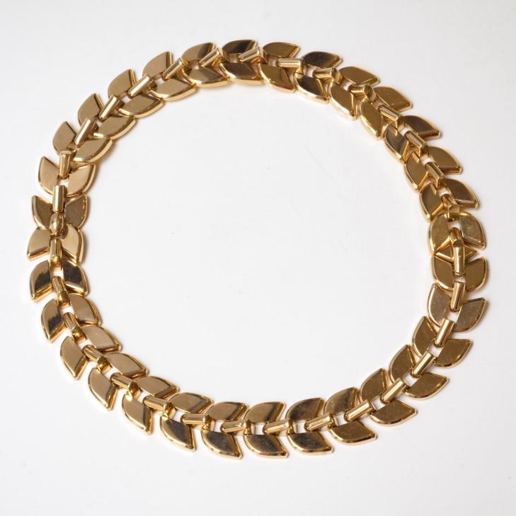 Boucheron - collier en or