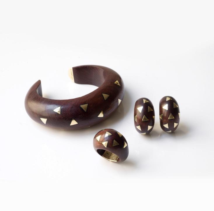 Van Cleef & Arpels - Parure en bois et or
