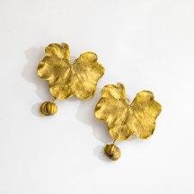 Claude Lalanne - Paire de clips d'oreilles en bronze