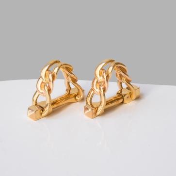 Boucheron - Paire de boutons de manchettes en or